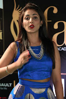 Madhu Shalini Looks Super Cute Slim trim Blue Choli Ghagra IIFA Utsavam Awards 028.JPG