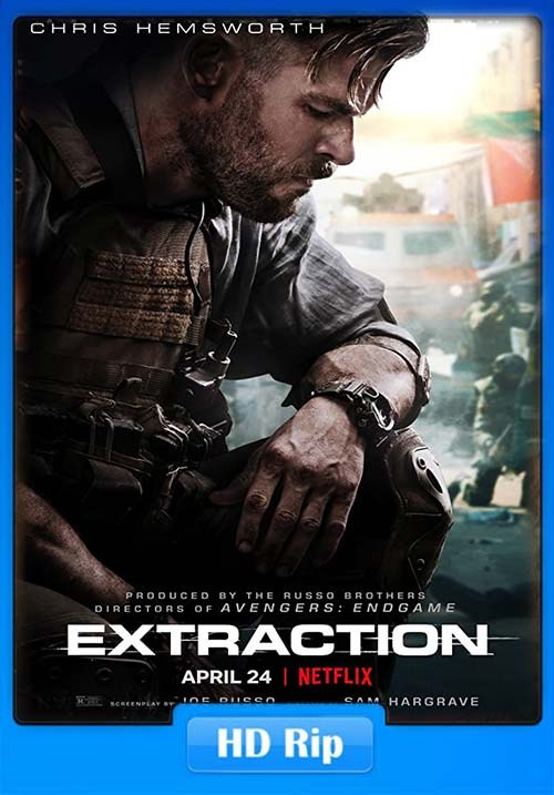 Extraction 2020 Dual Audo 720p NF WEB-DL x264 | 480p 300MB | 100MB HEVC