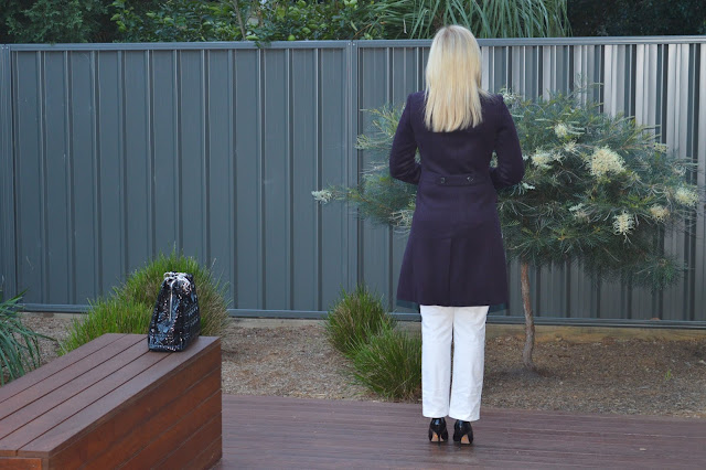 Sydney Fashion Hunter The Wednesday Pants #38 - White Pants Outfit