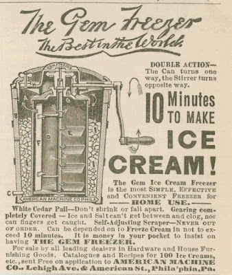 The Gem Ice Cream Freezer