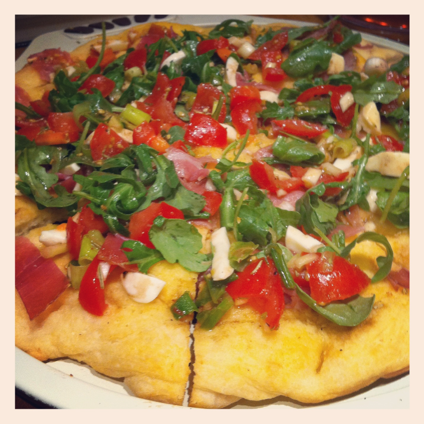 Things my Husband cooks for me: Pizza! - NaNa Toulouse