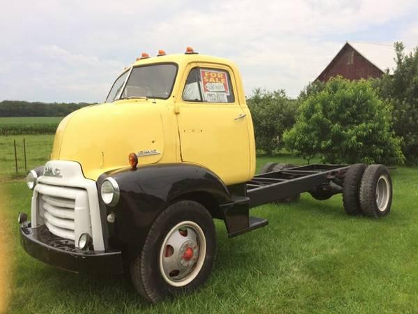 1952 Gmc Coe Truck Old Truck