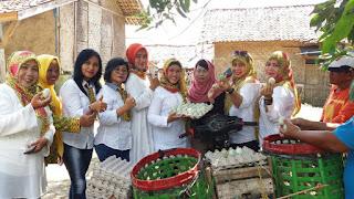 KPPG Karawang Berkunjung ke Rumah Telor