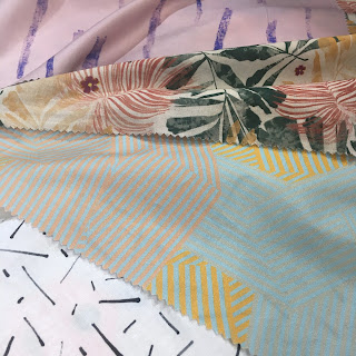 drape fabric Editex fabric stand CHSI