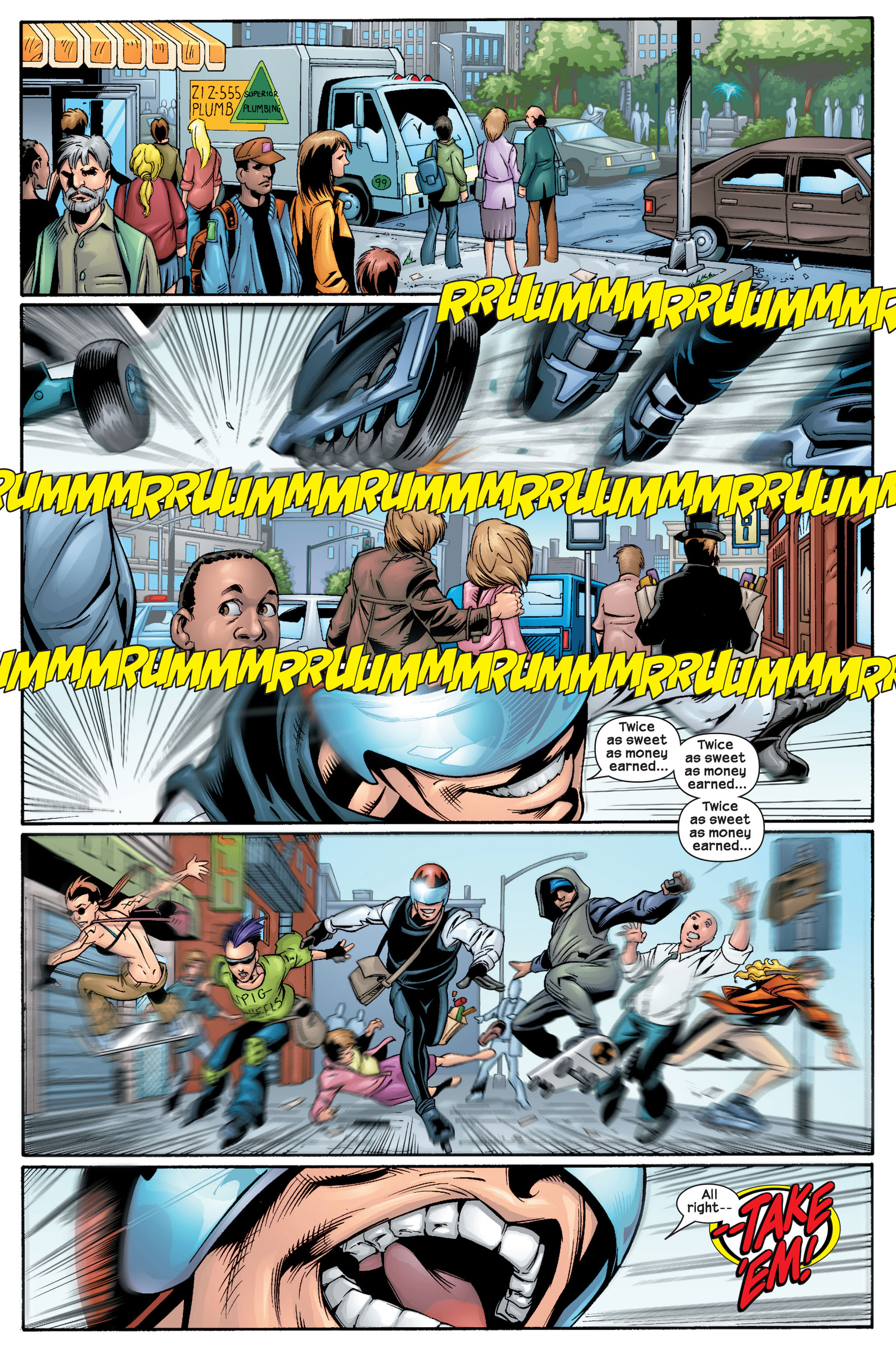 Read online Ultimate Spider-Man (2000) comic -  Issue #22 - 3