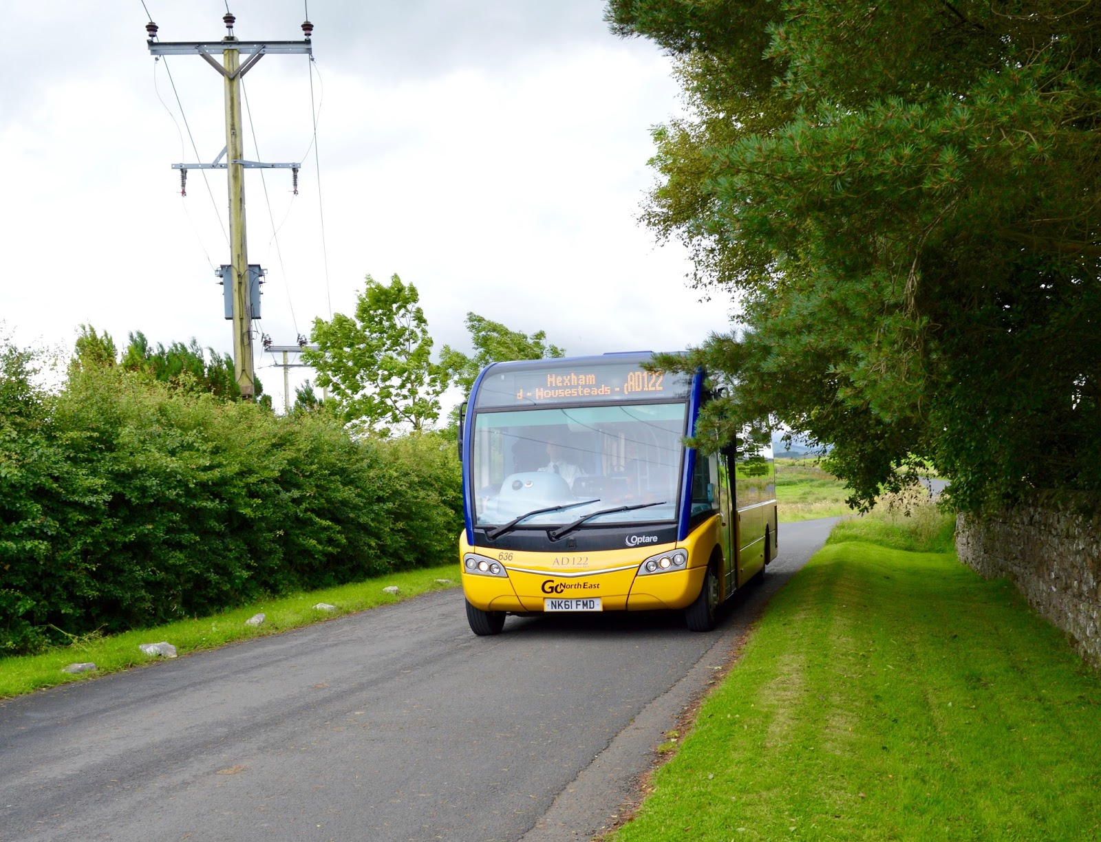 Exploring Hadrian's Wall by Bus with Go North East AD122