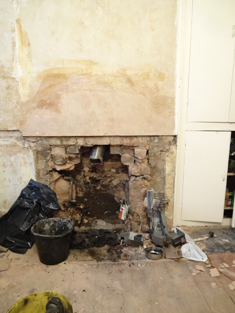 how to open up a chimney