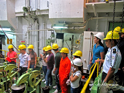 Ship Engine room tour and familiarization