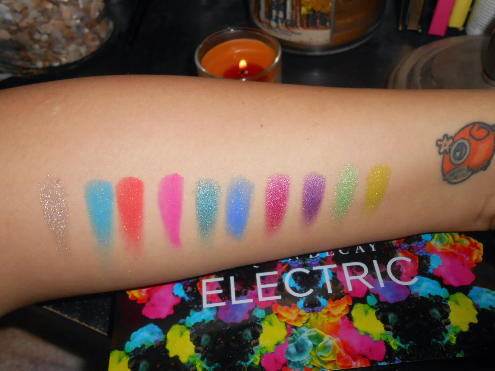 Electric Palette Swatches