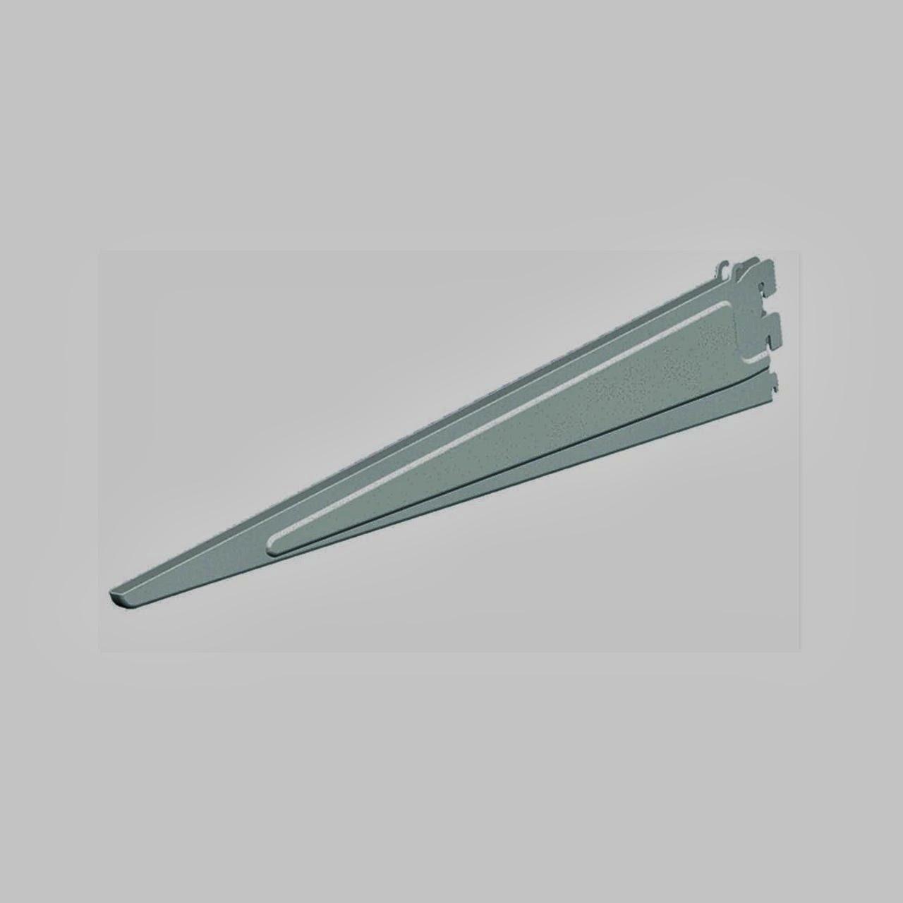 White Closetmaid 285500 20 Inch Shelf Track Bracket
