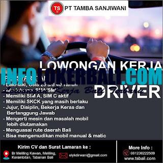 Info Lowongan Kerja PT Tamba Sanjiwani Juli 2019