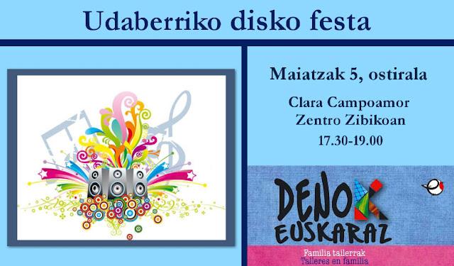 Udaberriko disko festa