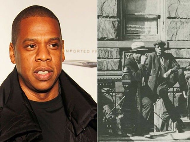 Jay-Z and a man from Harlem, 1939