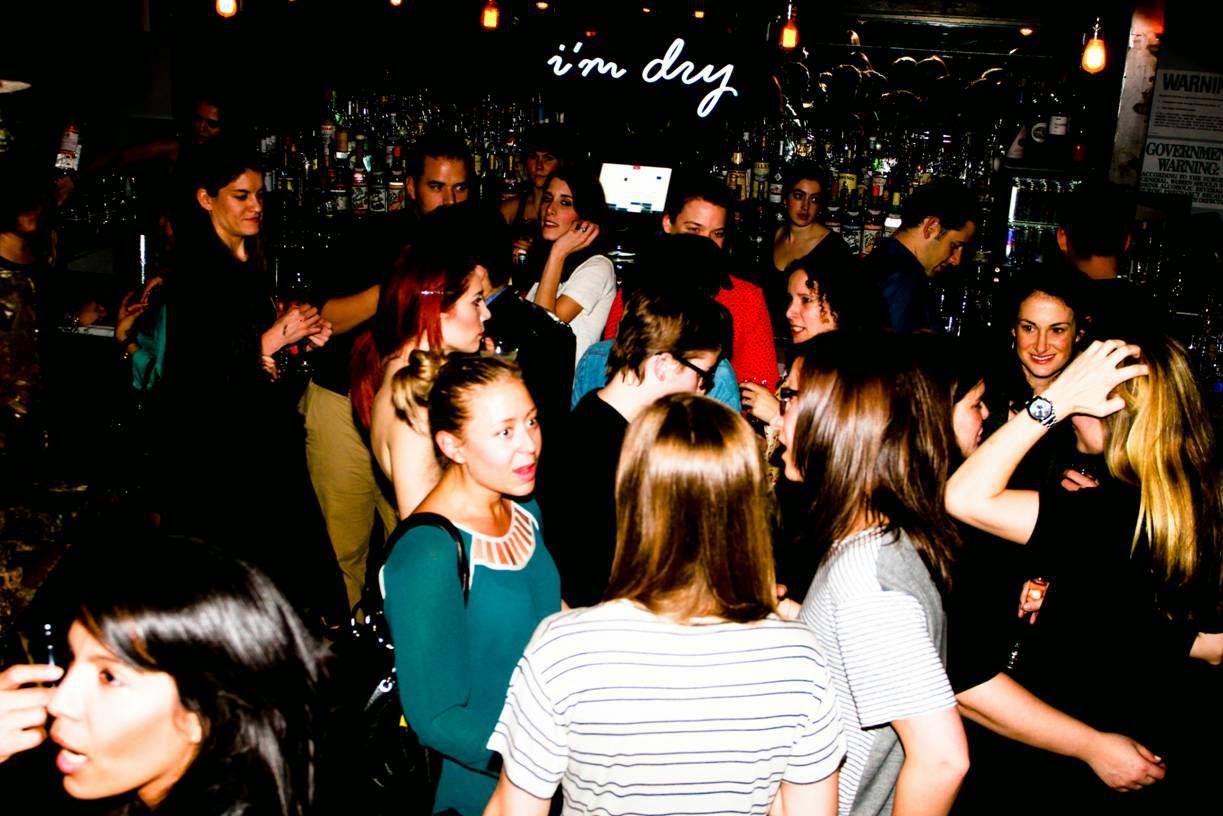 Lesbian bar and night club