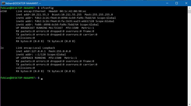 Fitur baru Bash Linux (Windows Subsystem for Linux) pada Windows 10 Creators Update