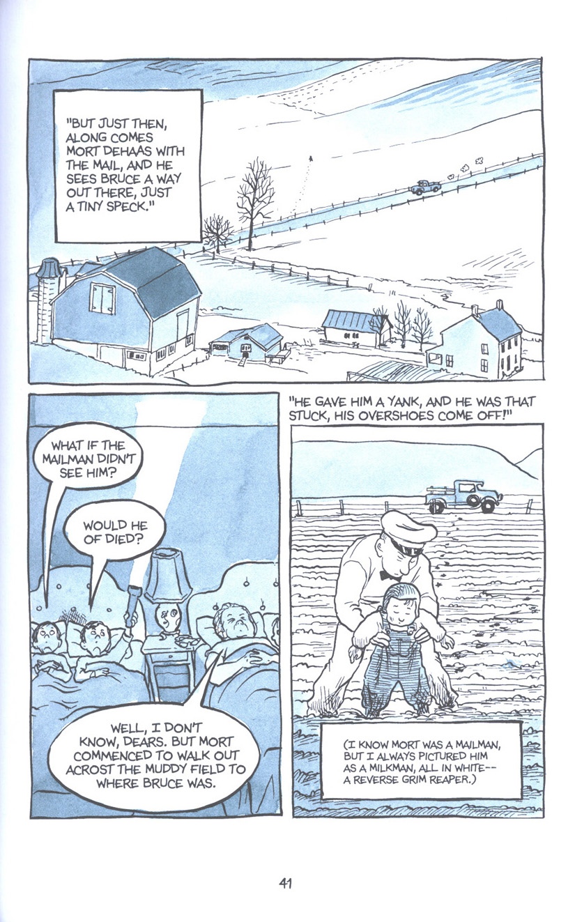 Read online Fun Home: A Family Tragicomic comic -  Issue # TPB - 48