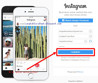 Cara Membuat Instagram Di Laptop