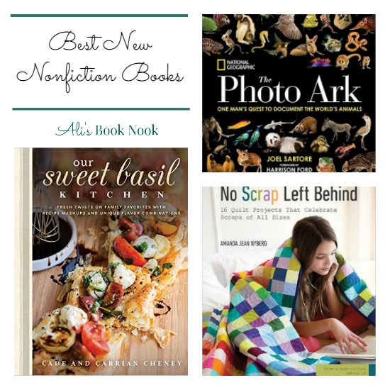 Best New Nonfiction Books released in early March - cooking, quilting, animal photography