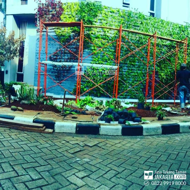 jasa tukang taman vertikal garden