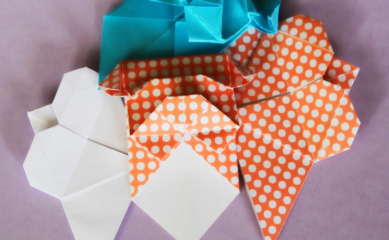 DIY Marque page origami