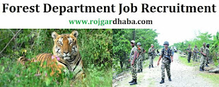 Uttarakhand Subordinate Service Selection Commission (UKSSSC) recruitment 2017 for the 1218 post of Forest gaurd