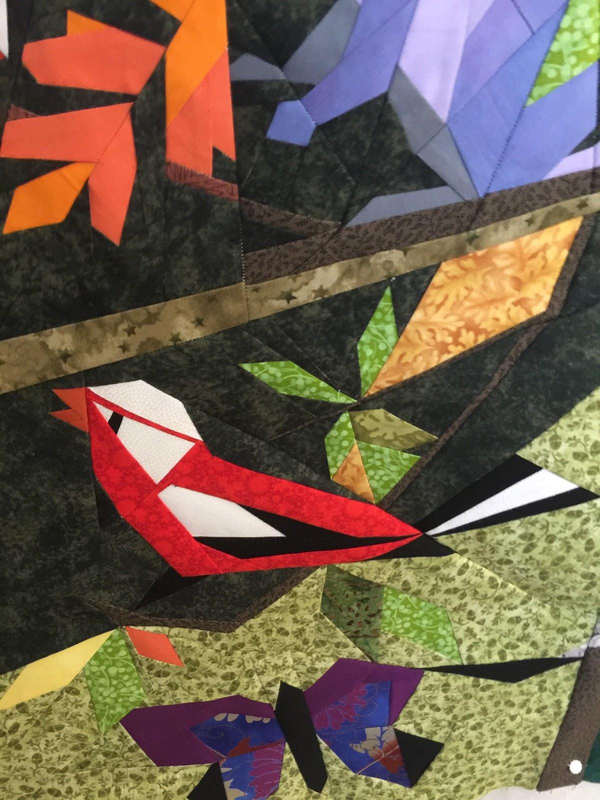 Quilt Art Design Woodlands Art Quilt