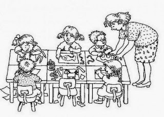 FUN & LEARN : Free worksheets for kid: ภาพระบายสีวันครู