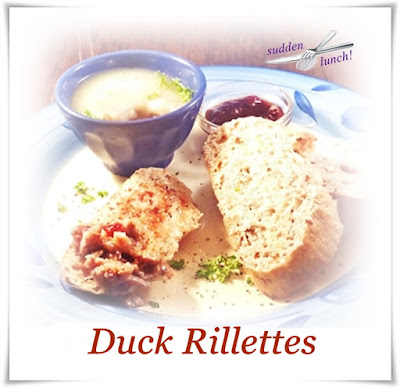 rillettes of duck with toast