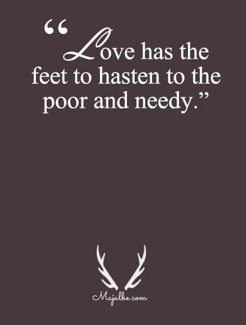 Love Has Feet