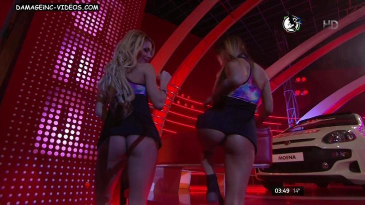 Anabel Salazar and Ana Tolosa bubble butts upskirt damageinc videos HD