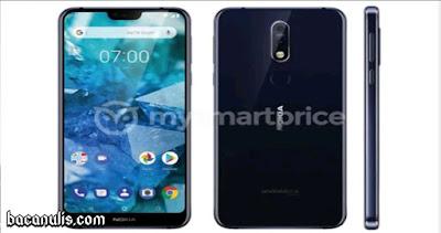 """Inilah Wajah """"Resmi"""" dari Smartphone Nokia 7.1 Plus"""