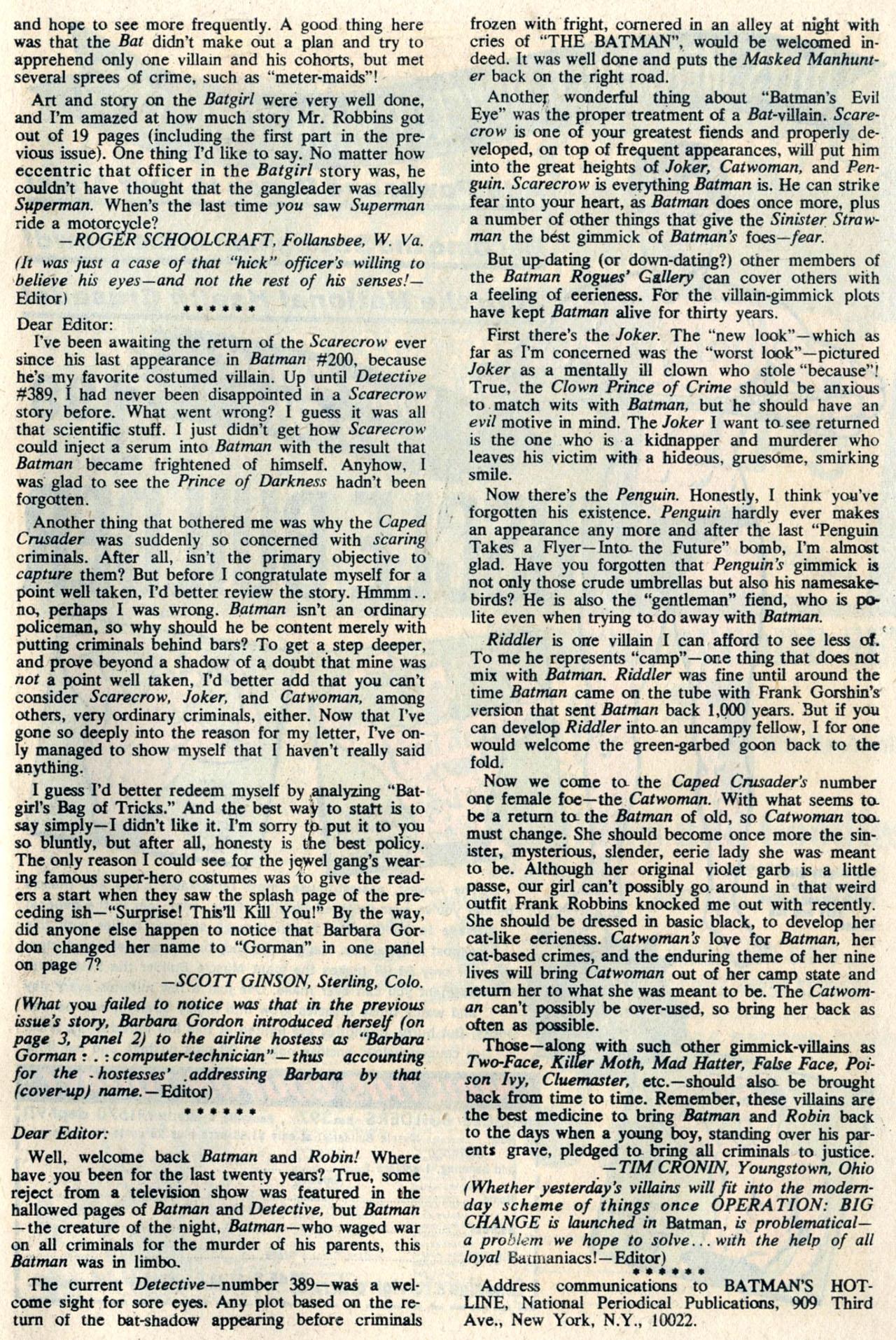 Detective Comics (1937) 393 Page 32