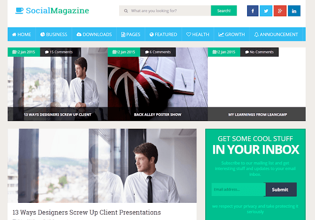 Best Blogger Responsive Templates Top 5