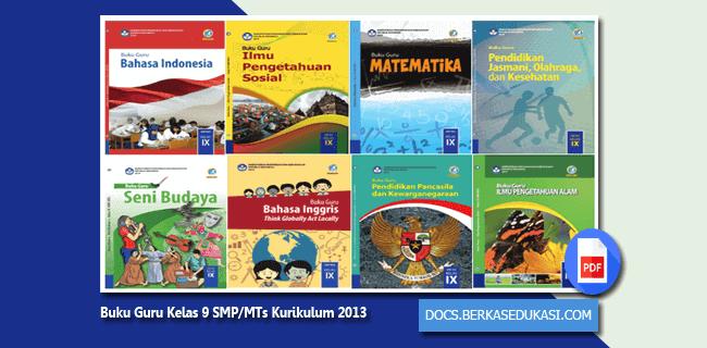 Buku Guru Kelas 9 SMP/MTs Kurikulum 2013