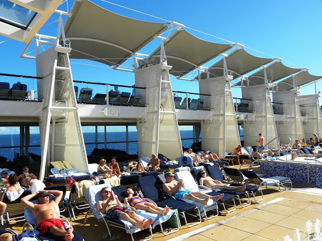 Celebrity Eclipse Sun Deck
