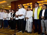 Jokowi Amin Menang di 22 Provinsi, Prabowo Sandi Unggul di 14 Provinsi