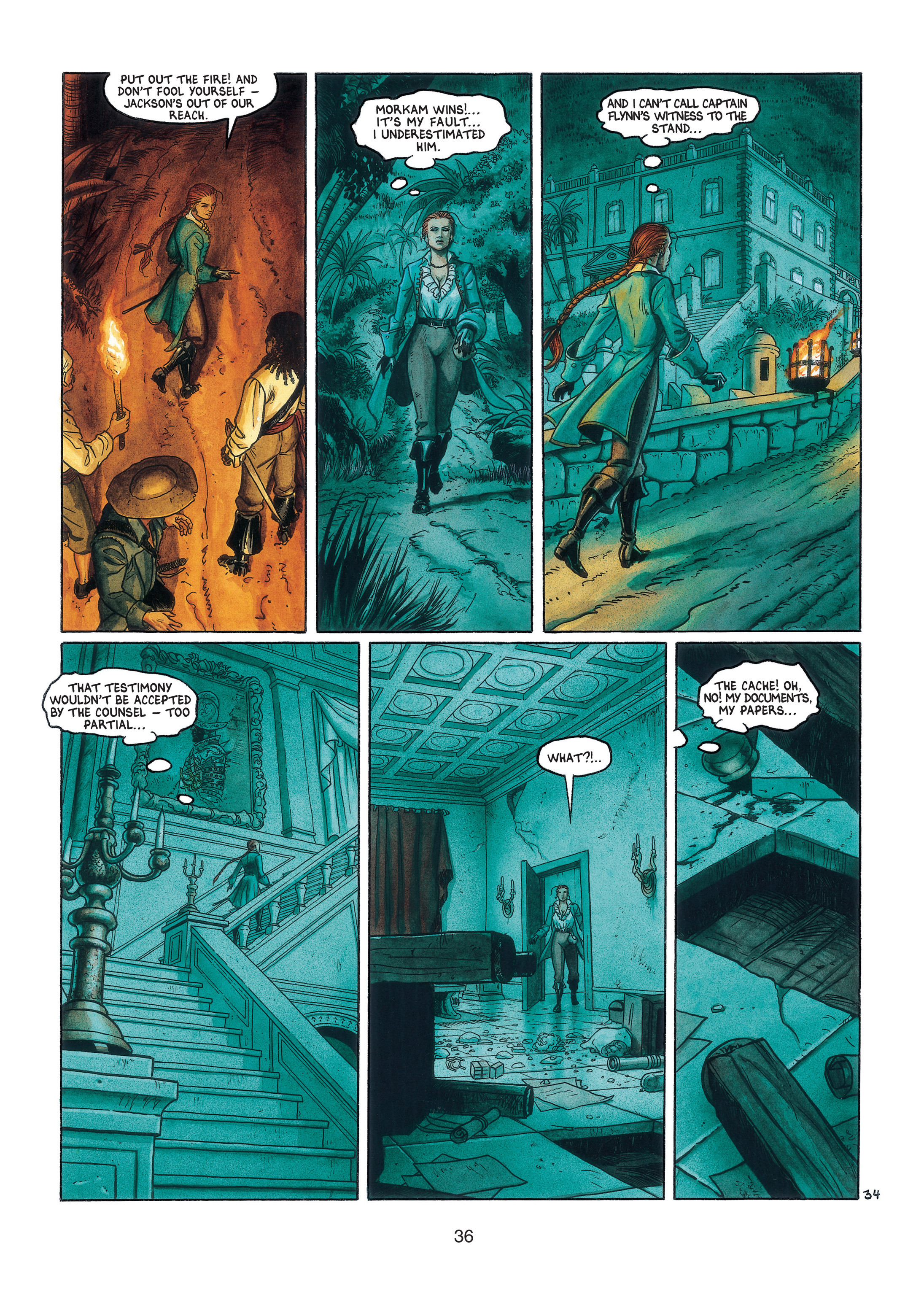 Read online Barracuda comic -  Issue #3 - 37