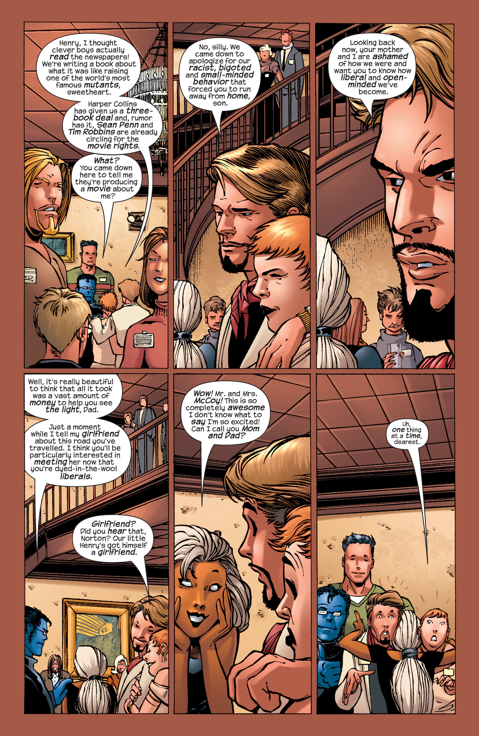 Read online Ultimate X-Men comic -  Issue #32 - 18