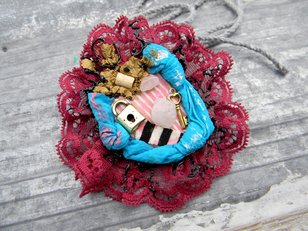 Unique Handmade Jewelry Handcrafted Brooch Original Fashion Jewelry