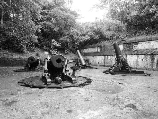 Battery Way at Corregidor Island
