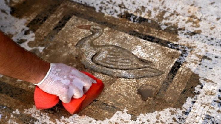 Μωσαϊκό 1.800 ετών βρέθηκε στην αρχαία Ελληνική πόλη της Πέργης