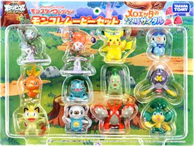 Meloetta figure Takara Tomy Monster Collection 2012 Meloetta Movie Set
