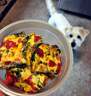 21 day fix, portion control containers, healthy breakfast, vegetarian, clean eating recipes, healthy veggie fritatta, meal prep, shift shop