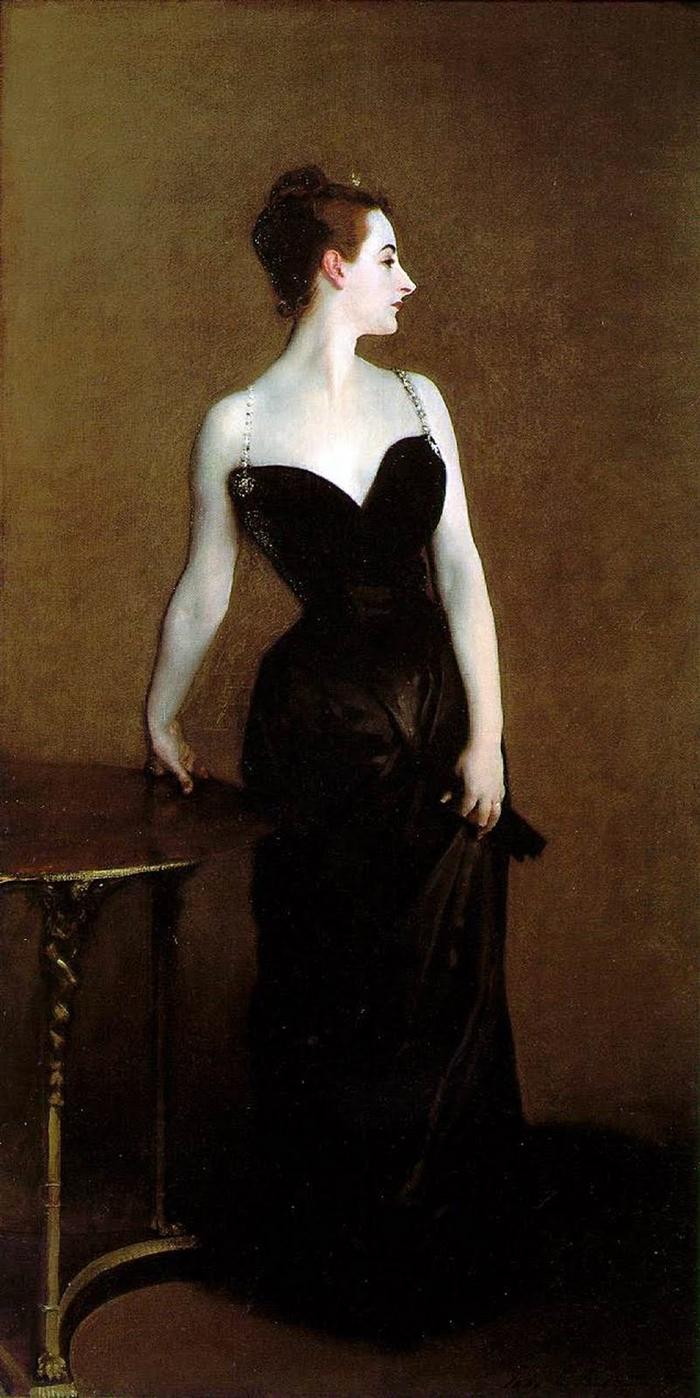 John Singer Sargent 1856-1925 | American Impressionism - Madame X