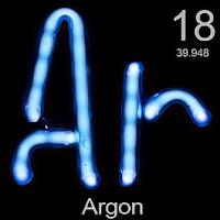Argon Elementi Simgesi Ar
