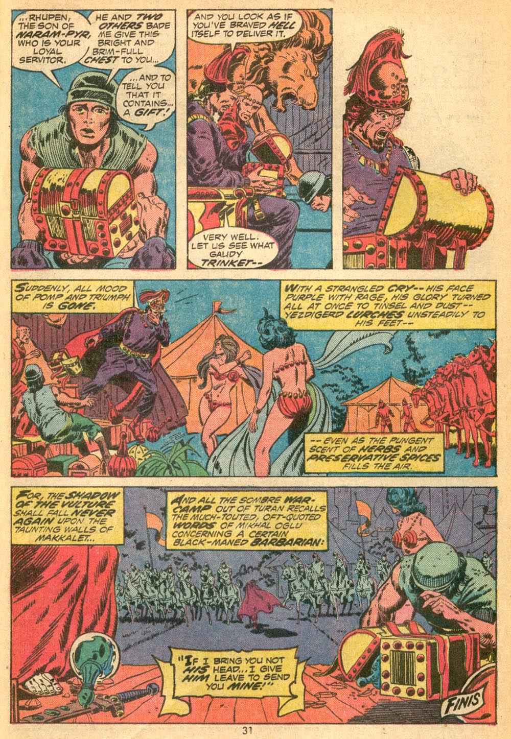Conan the Barbarian (1970) Issue #23 #35 - English 22
