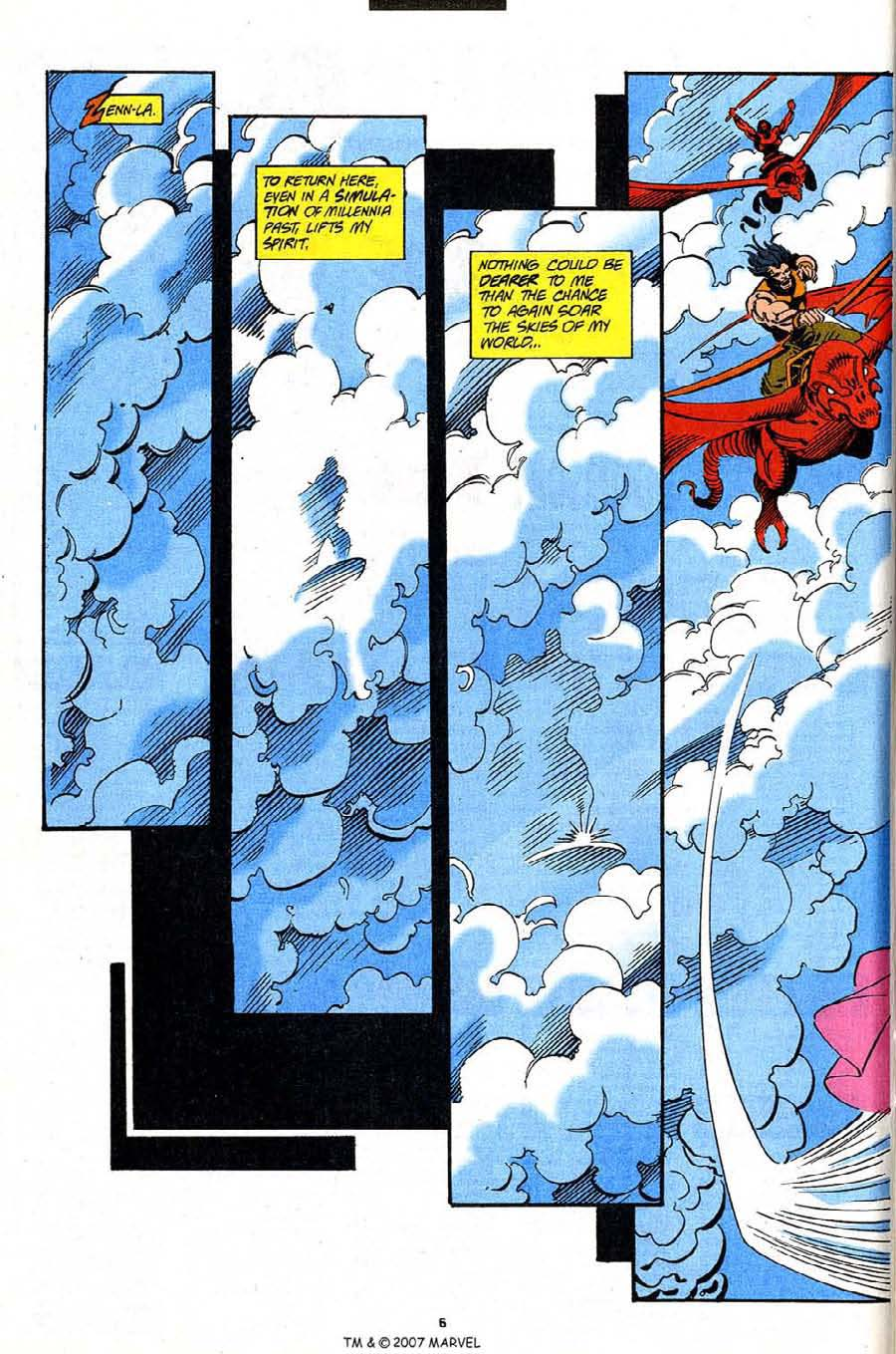 Read online Silver Surfer (1987) comic -  Issue #91 - 8