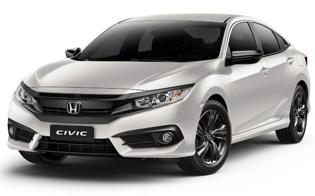 Honda Civic 2018 x Toyota Corolla
