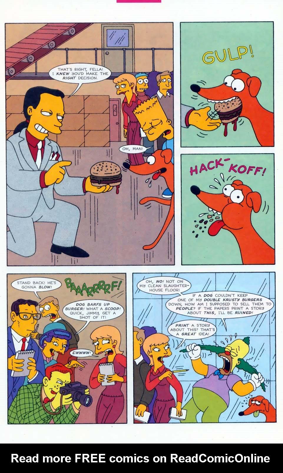 Read online Simpsons Comics comic -  Issue #45 - 20