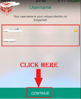 how to login snapchat